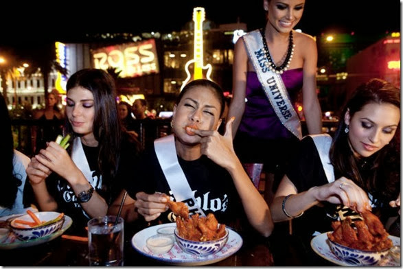 Hot Wing Contest