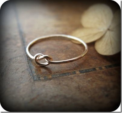 junedesigns knot ring