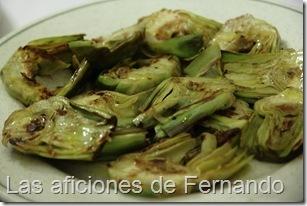 Alcachofas plancha