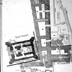 12.- Planta de un templo mesopotámico
