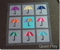 Umbrella line up 3