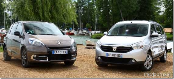 Dacia Lodgy of Renault Scenic 01