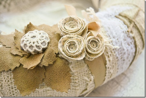 Vintage Wreath - detail1