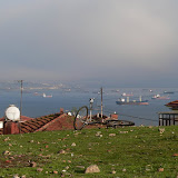 Vue de la mer de Marmara depuis Buyukada (iles aux princes)