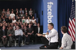 Obama facebook - Apocalipse Em Tempo Real
