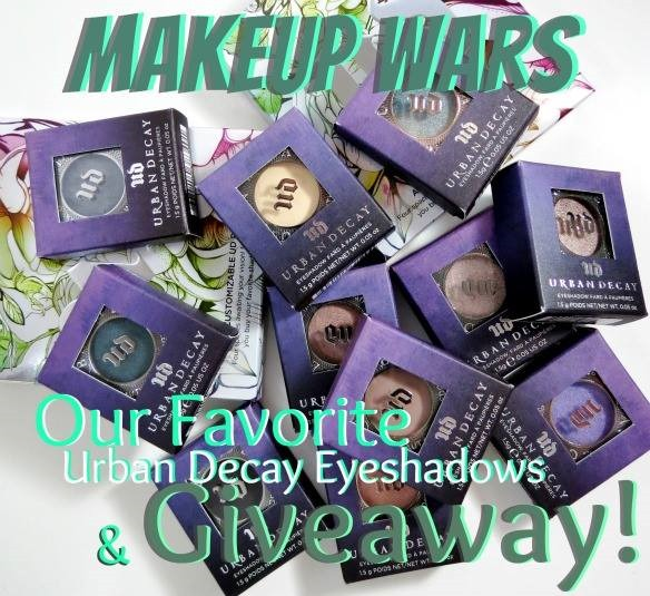 Win It! Makeup Wars - Our Favorite Urban Decay Eyeshadows!