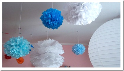 tissue paper flowers 1