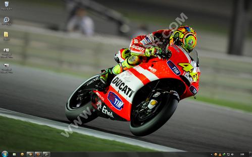 Download Ducati 2 Theme untuk Windows 7 - 3