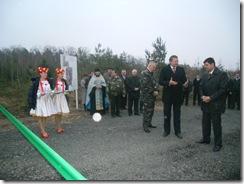 Освячення новозбудованої дороги у Ківерцівському районі