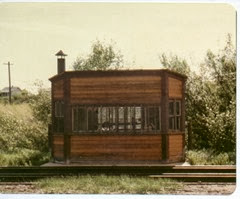 Scale House in Lewistown Yard-1978