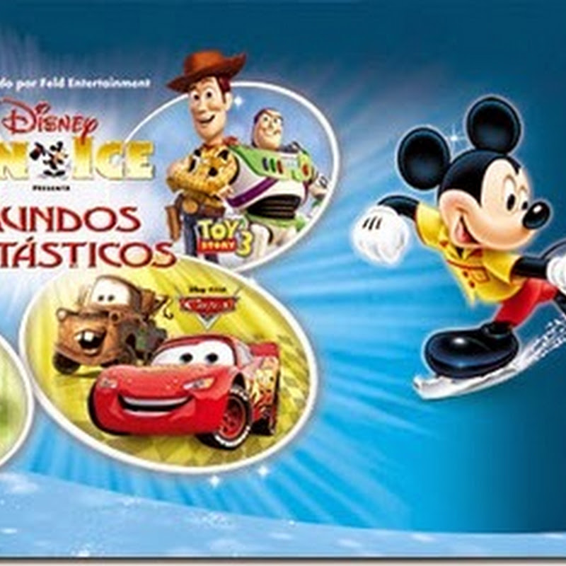 Disney on Ice en Guadalajara Agosto 2014 Auditorio Telmex