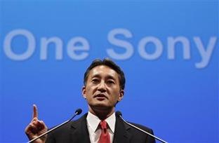Sony CEO wields ax, sets turnaround targets