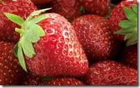 Fresh strawberries, close-up