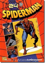 P00025 - Coleccionable Spiderman #24 (de 50)