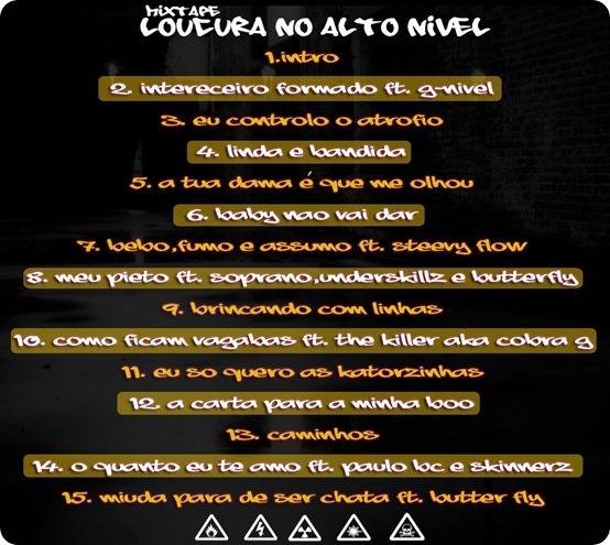 """13 Horas – Mixtape """"Loucura No Alto Nível"""""""