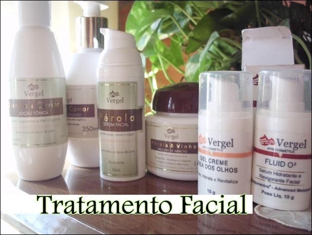 Linha Completa para Tratamento Facial Vergel