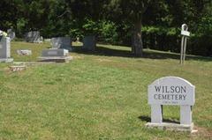 Wilson Cemetery - Entrance