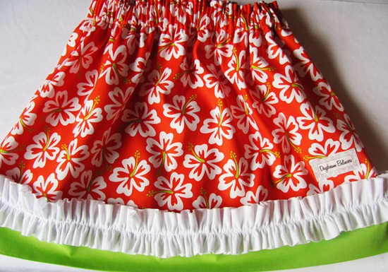 Custom Luau Skirt: Skirt of the Month Club: Daydream Believers