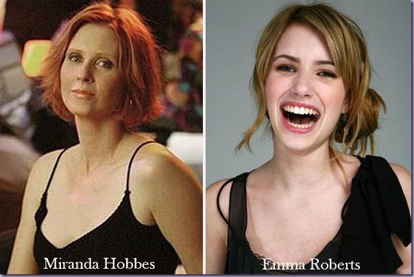 Diários-Carrie-Miranda-Hobbes-Emma-Roberts