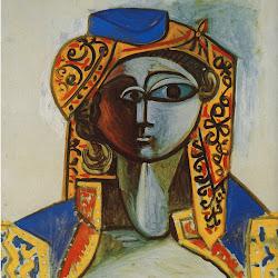 Picasso, Jacqueline in Turkish Costume 1955.jpg