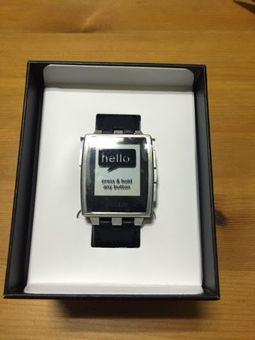 Pebble steel本体