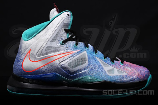 New South Beach Nike LeBron X 8220Pure Platinum8221 Drops on May 4th