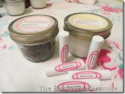 Homemade Lip Balm - The Backyard Farmwife