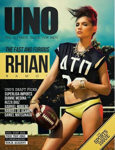 Rhian Ramos - UNO Jan 2015