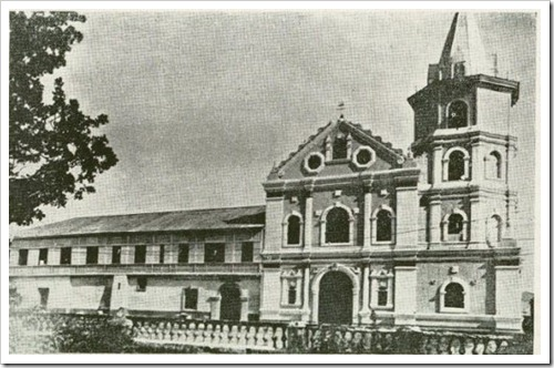 Sta. Ana Church c1900s