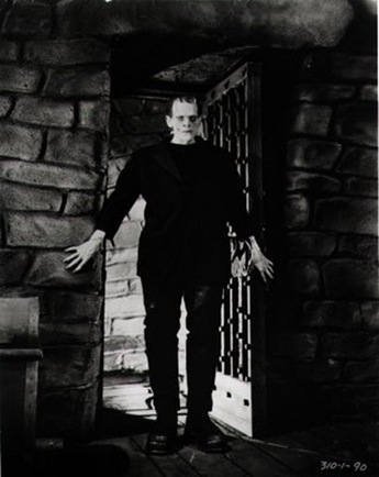 Karloff Frankenstein Doorway