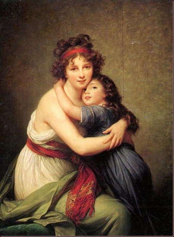Louise-Élisabeth-Vigée-Le-Brun-Madame-Vigée-Lebrun-y-su-hija