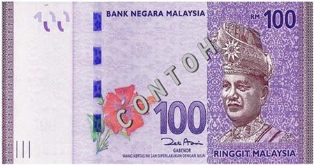bantuan sekolah rendah menengah RM100