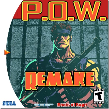 Cover di POW Remake per dreamcast