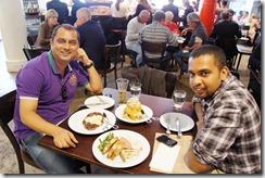 With Vishal Kadam