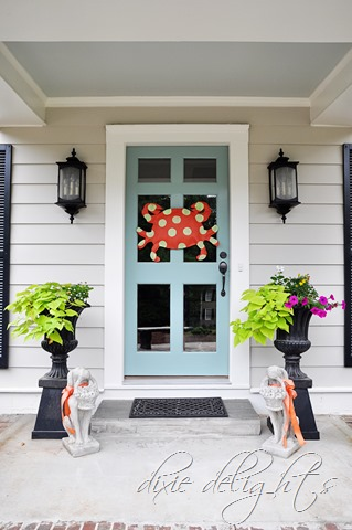 Crab Front Door Decor