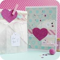 1-cafe-creativo - big shot- scrapbooking - biglietto card compleanno love