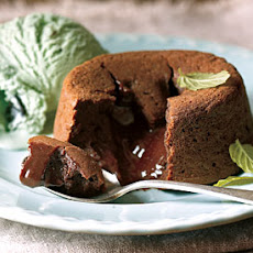 Chocolate-Mint Pudding Cakes
