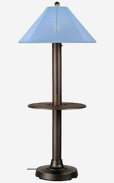 CatalinaII 39697 Lamp Large Floor Lamp With Table