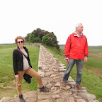 Stepping onto Hadrian's Wall