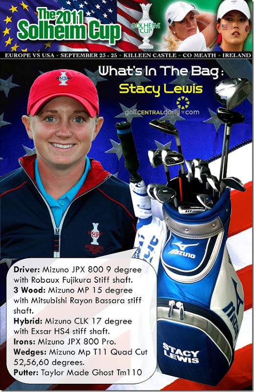 What's In The Bag Stacy Lewis 2011 Solheim Cup