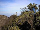 The highest point on Ciremai rim (Daniel Quinn, August 2009)