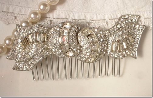 strass comb