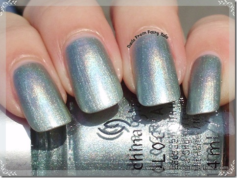 China Glaze HoloGlam Collection Don't be a luna-tic