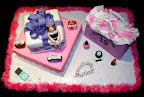Girl's Shopping Cake