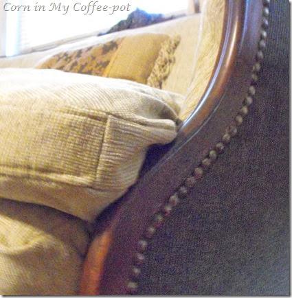 Settee Final cushion detail