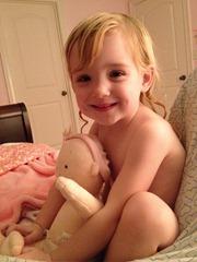 bedtime lap cuddle