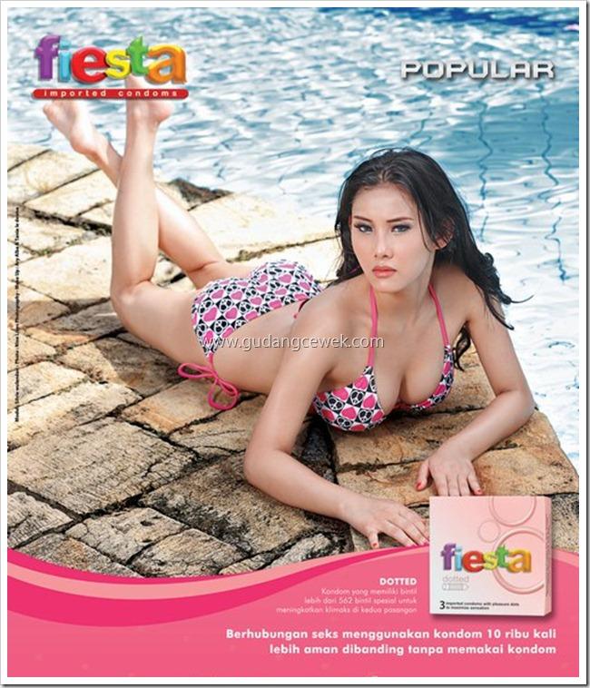 Model Bintang Iklan Kondom Fiesta || gudangcewek.com