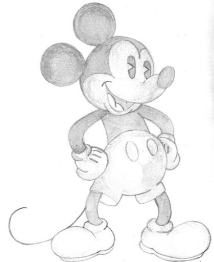 Mickey Mouse - Lápiz - 2004