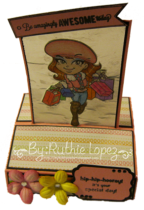 kenny K - Madison Attitud digi stamp - Latinas en America 2