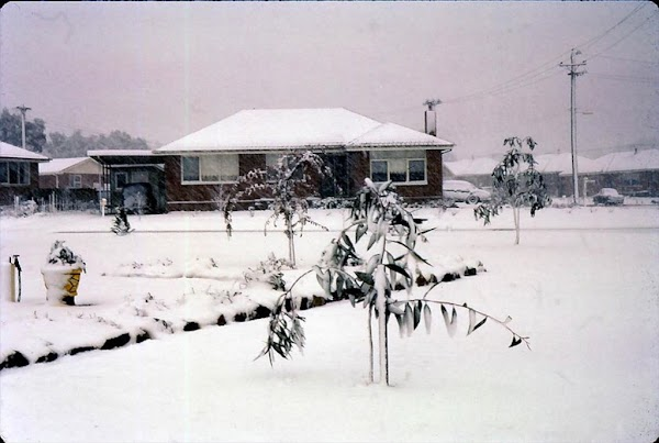Snow in Hacket